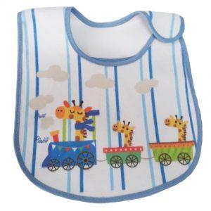 Babador Impermeável Girafa no Carro com Velcro – Ref. 131 – Linha Bia Baby