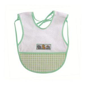 Babador Impermeável Colete – Bordado – Ref. 178 – Linha Bia Baby